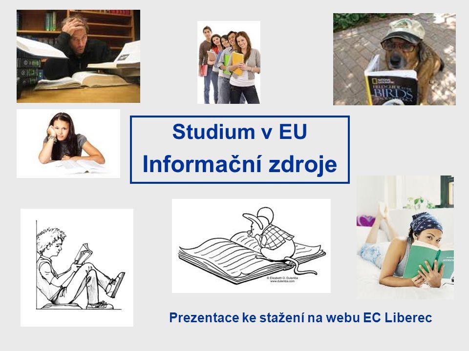 Informační zdroje Studium v EU