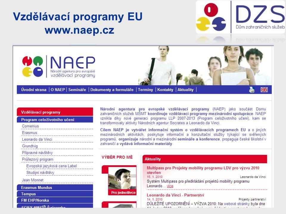 Vzdělávací programy EU