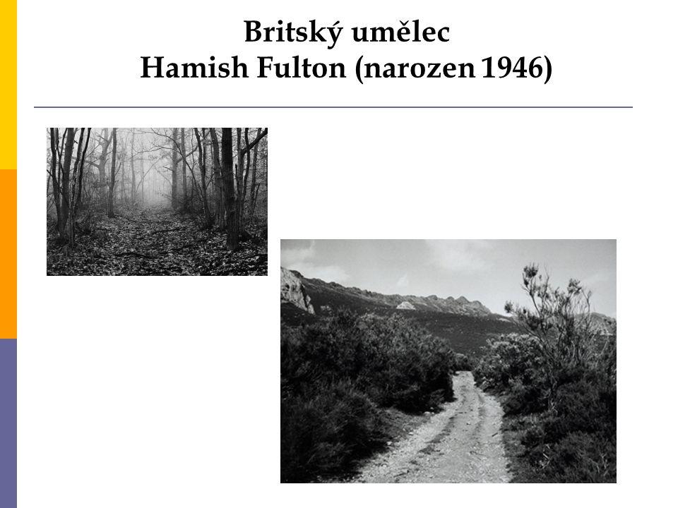 Britský umělec Hamish Fulton (narozen 1946)