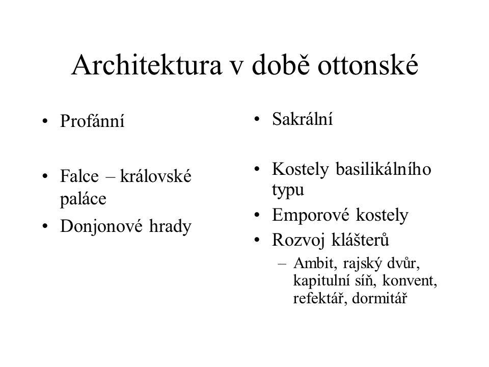Architektura v době ottonské