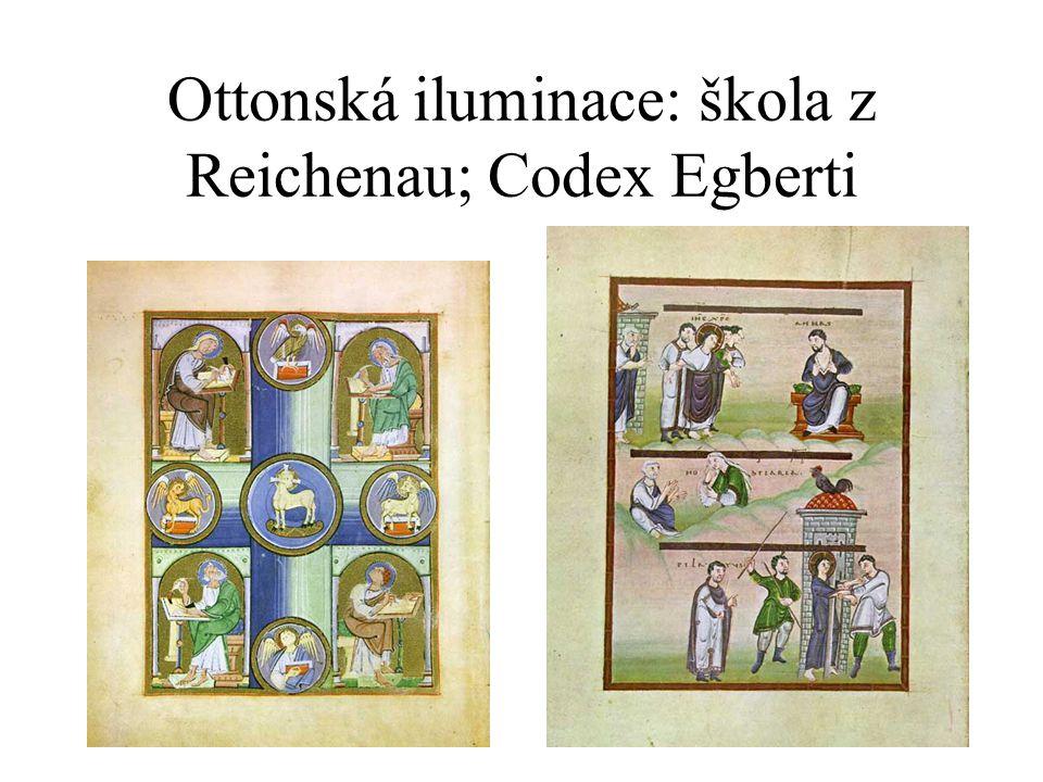 Ottonská iluminace: škola z Reichenau; Codex Egberti