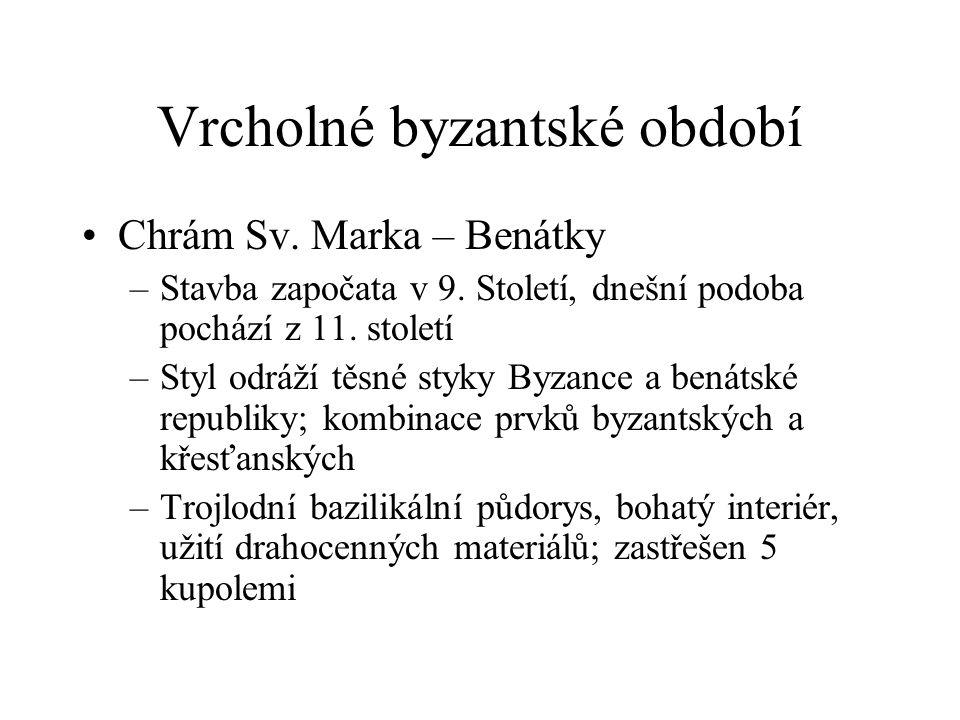 Vrcholné byzantské období