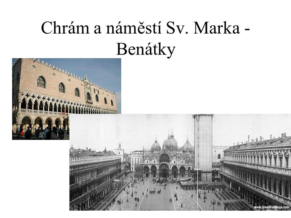 Chrám a náměstí Sv. Marka - Benátky