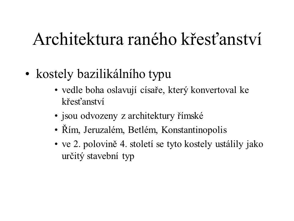 Architektura raného křesťanství