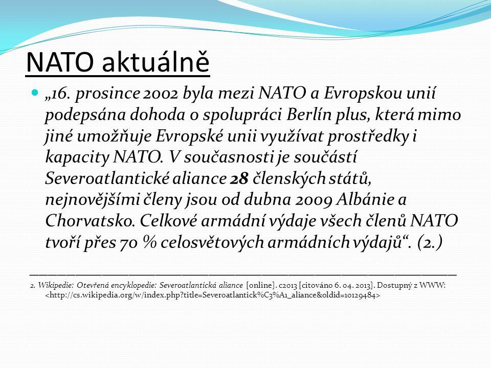 NATO aktuálně