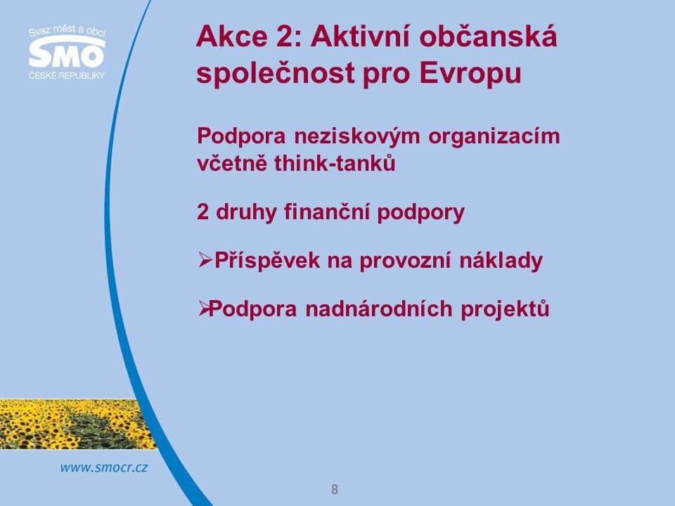 Akce 2: Aktivní občanská společnost pro Evropu