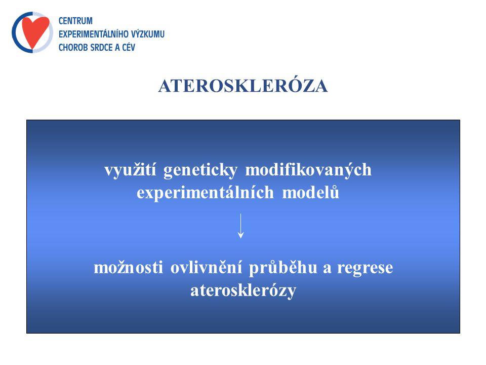 možnosti ovlivnění průběhu a regrese aterosklerózy
