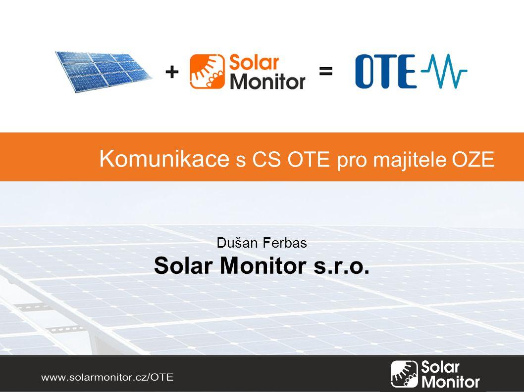 Dušan Ferbas Solar Monitor s.r.o.