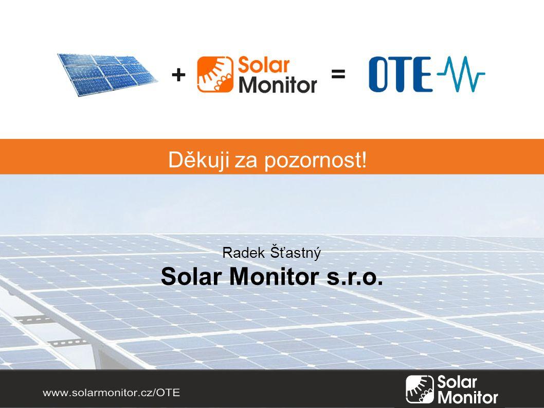 Radek Šťastný Solar Monitor s.r.o.