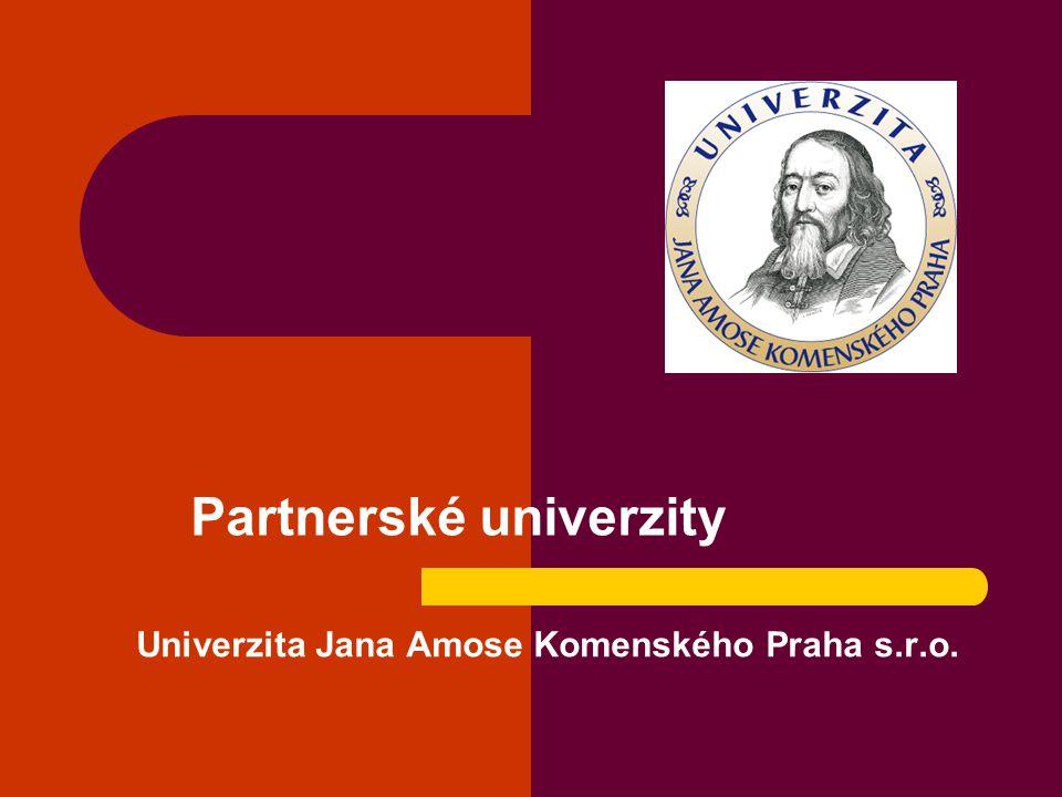 Univerzita Jana Amose Komenského Praha s.r.o.