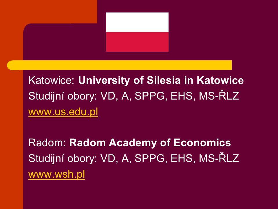 Katowice: University of Silesia in Katowice