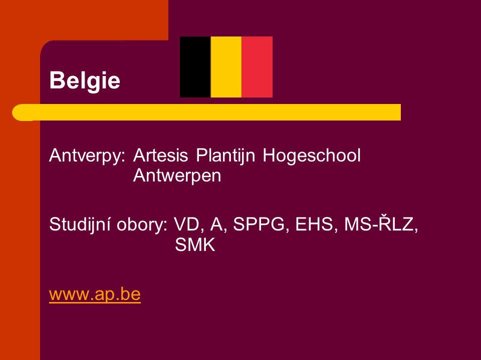Belgie Antverpy: Artesis Plantijn Hogeschool Antwerpen