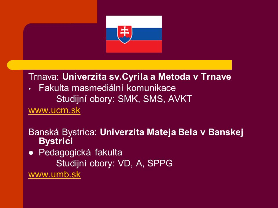 Trnava: Univerzita sv.Cyrila a Metoda v Trnave