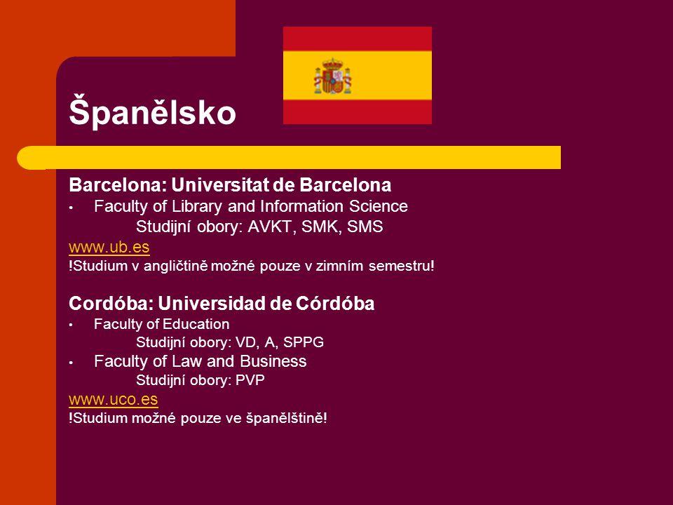 Španělsko Barcelona: Universitat de Barcelona