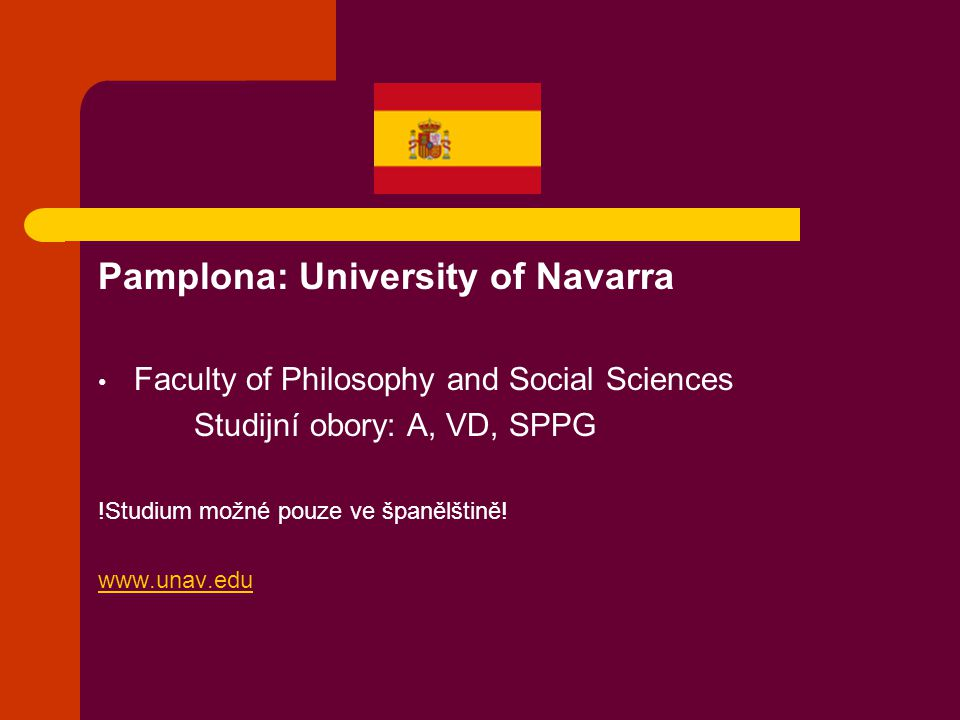 Pamplona: University of Navarra