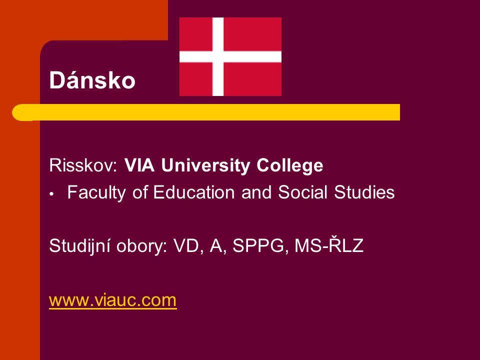 Dánsko Risskov: VIA University College
