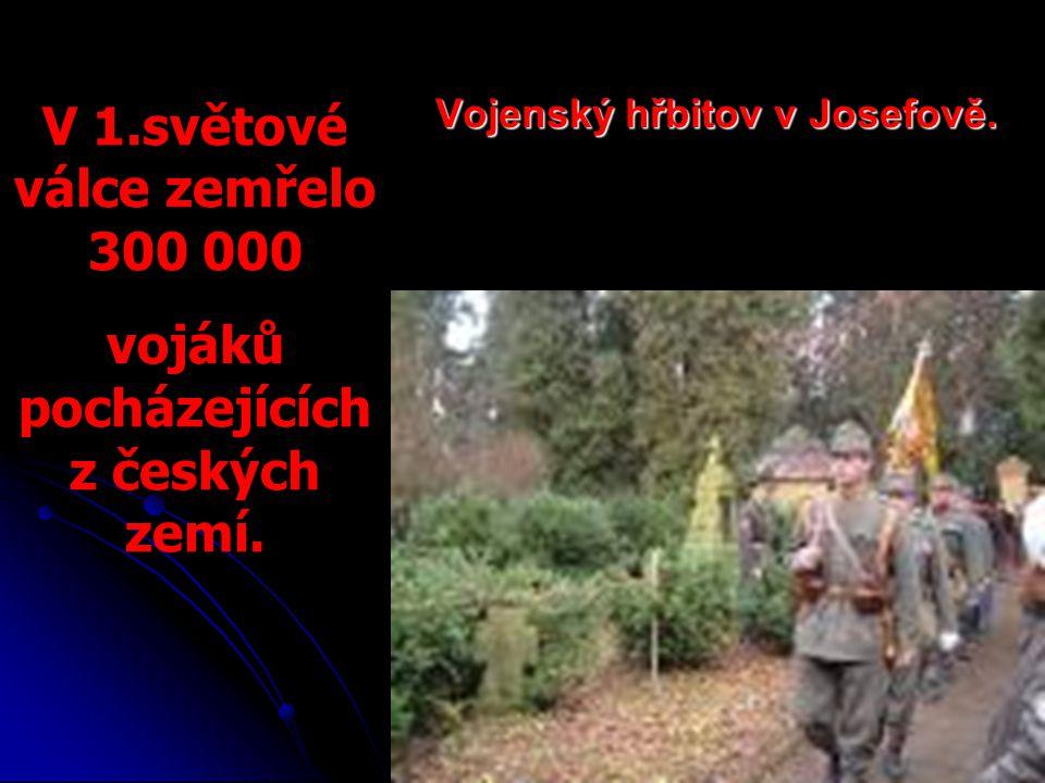 Vojenský hřbitov v Josefově.