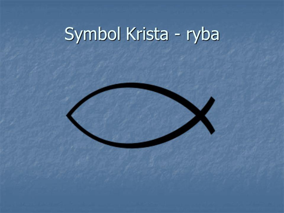 Symbol Krista - ryba