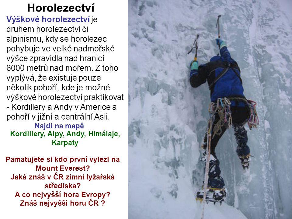 Horolezectví