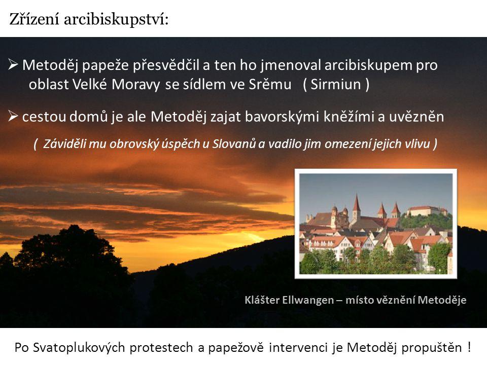 Zřízení arcibiskupství:
