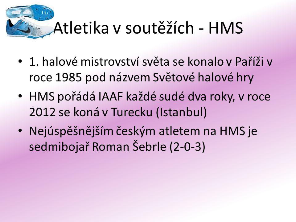 Atletika v soutěžích - HMS