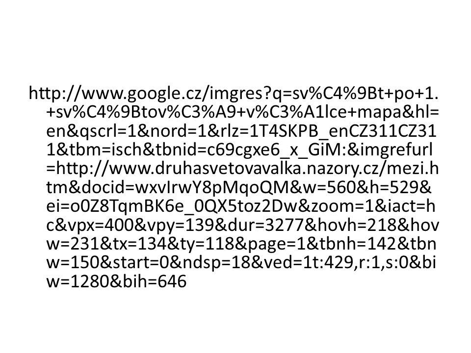 http://www. google. cz/imgres. q=sv%C4%9Bt+po+1
