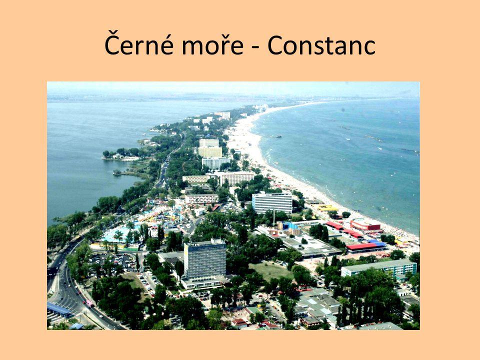 Černé moře - Constanc