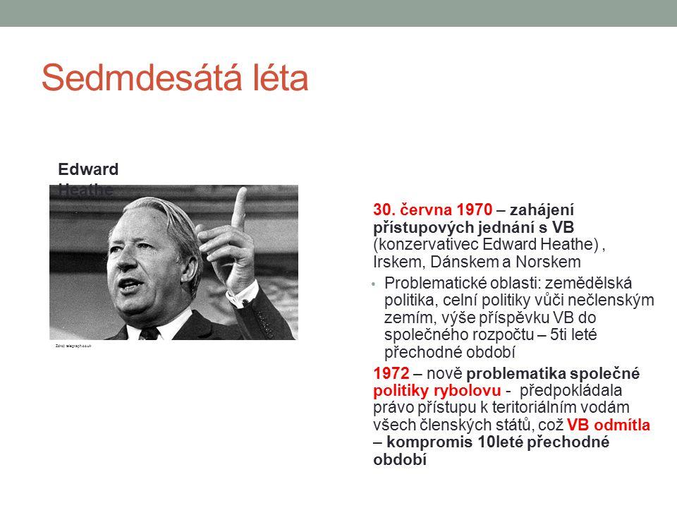 Sedmdesátá léta Edward Heathe