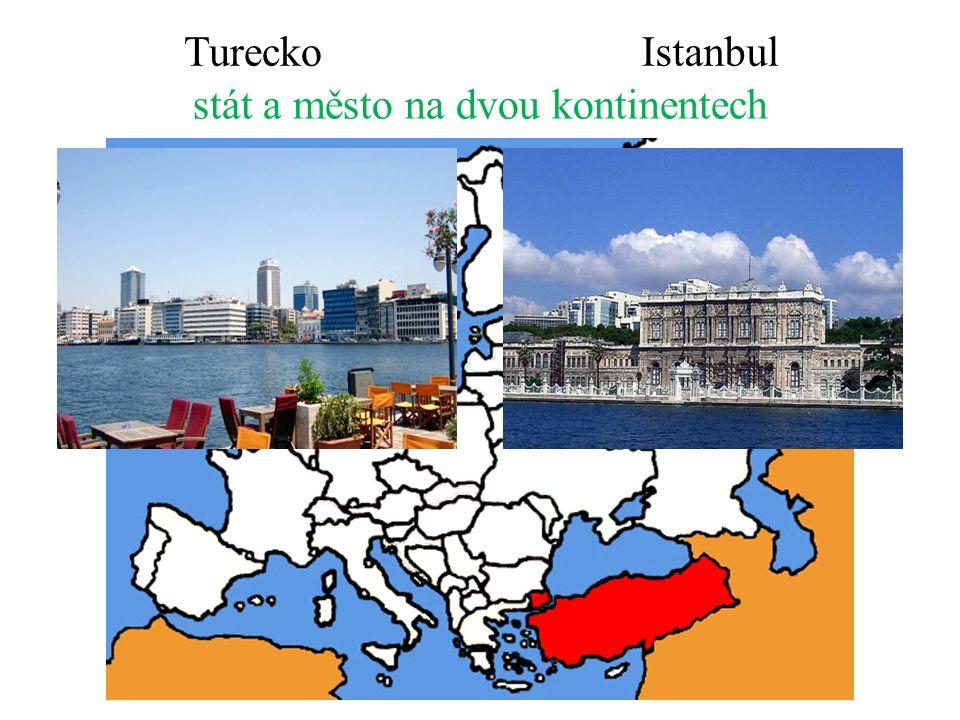 stát a město na dvou kontinentech