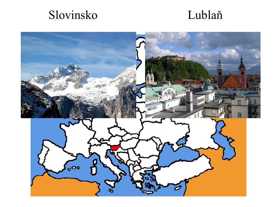 Slovinsko Lublaň