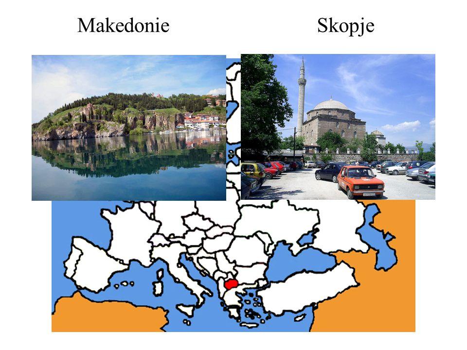 Makedonie Skopje