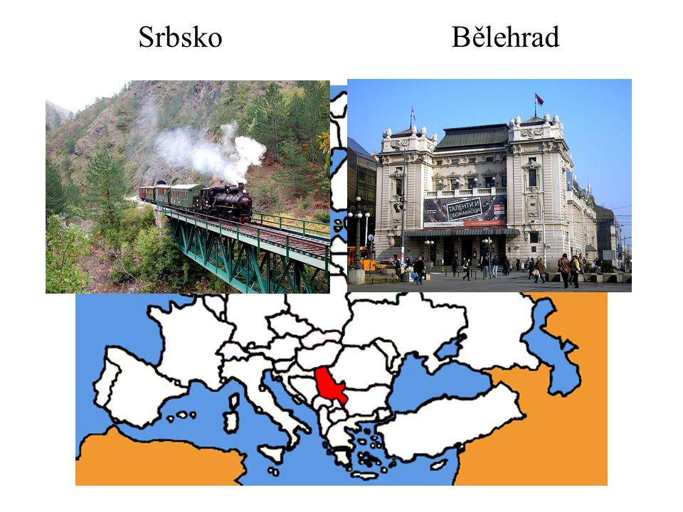 Srbsko Bělehrad