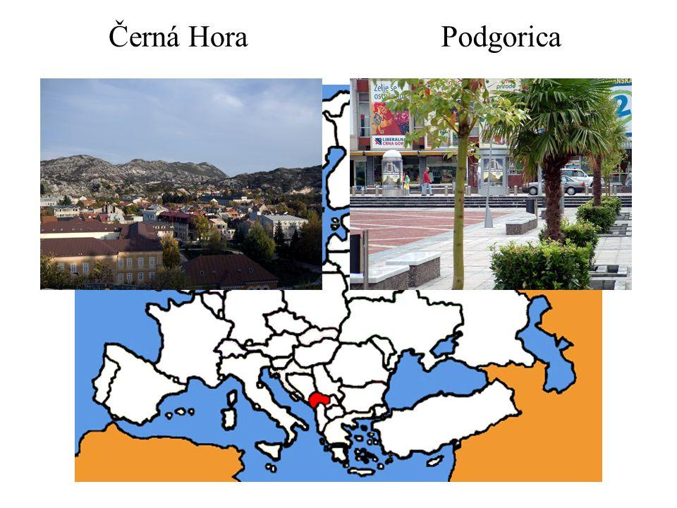 Černá Hora Podgorica