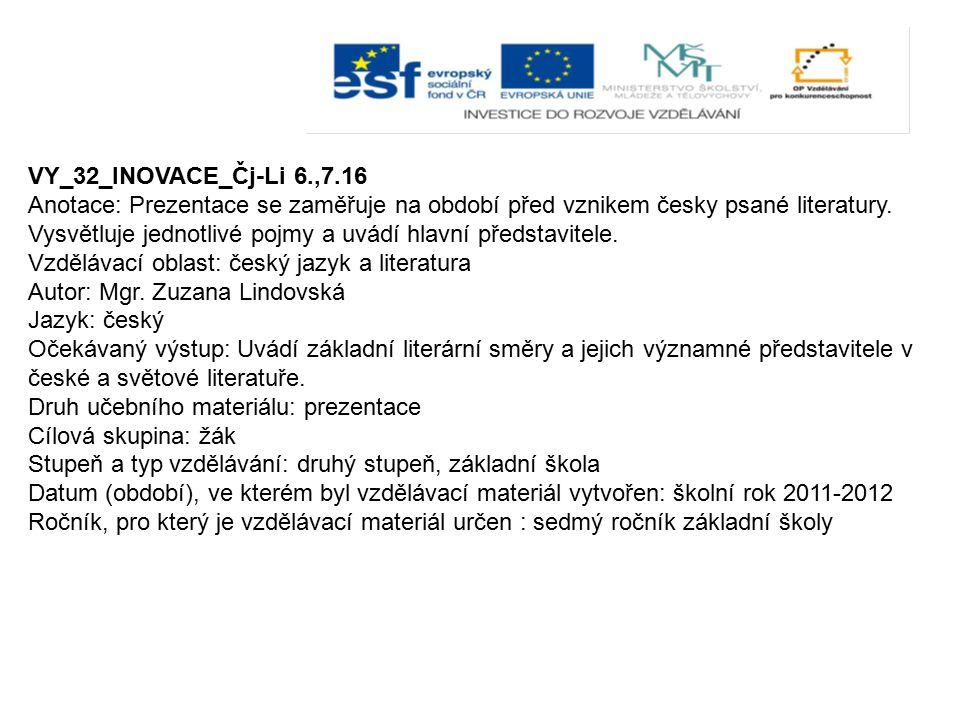 VY_32_INOVACE_Čj-Li 6.,7.16