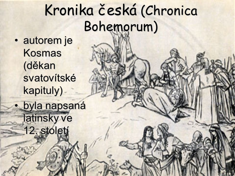 Kronika česká (Chronica Bohemorum)