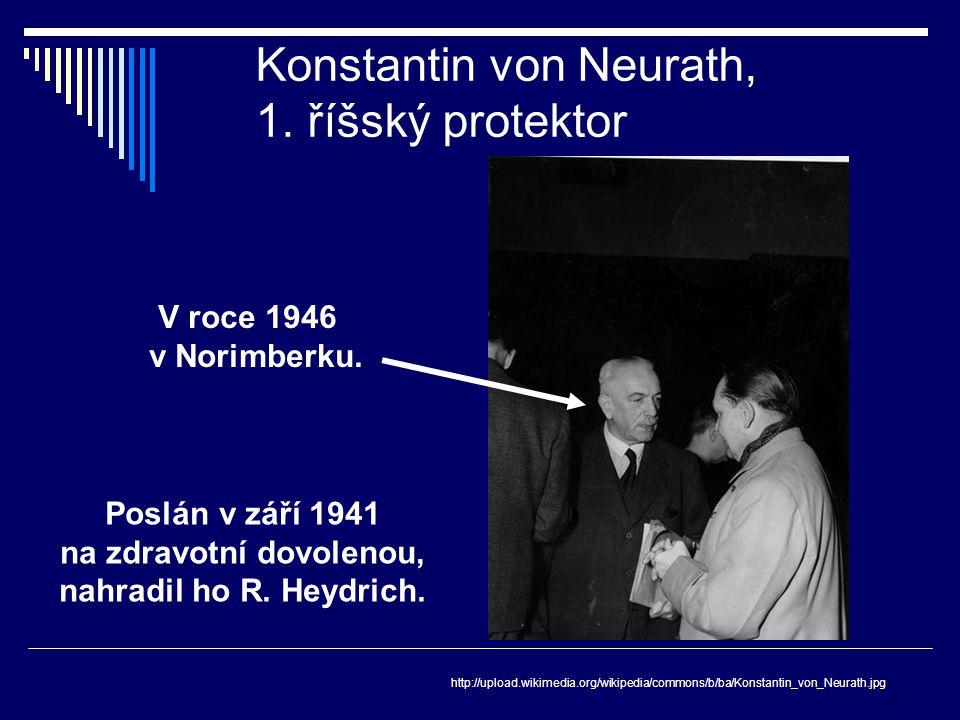 Konstantin von Neurath, 1. říšský protektor
