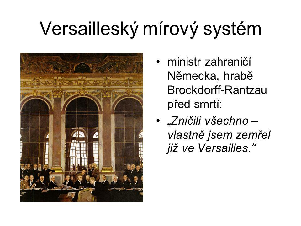 Versailleský mírový systém