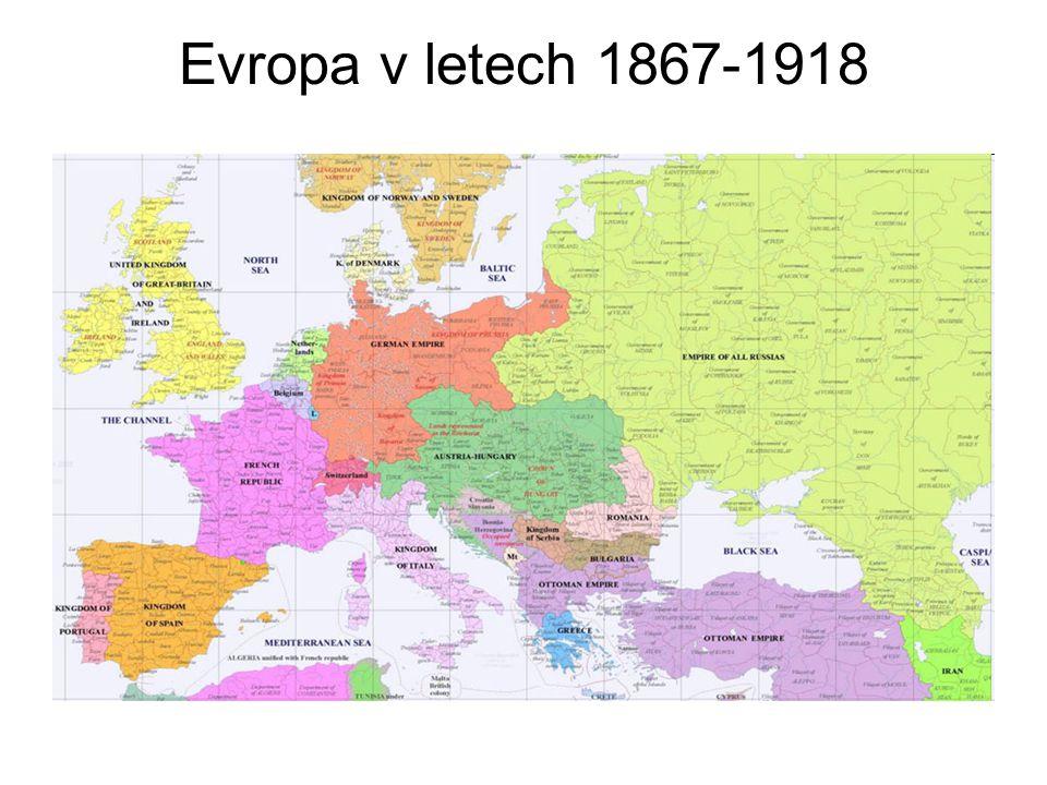 Evropa v letech 1867-1918