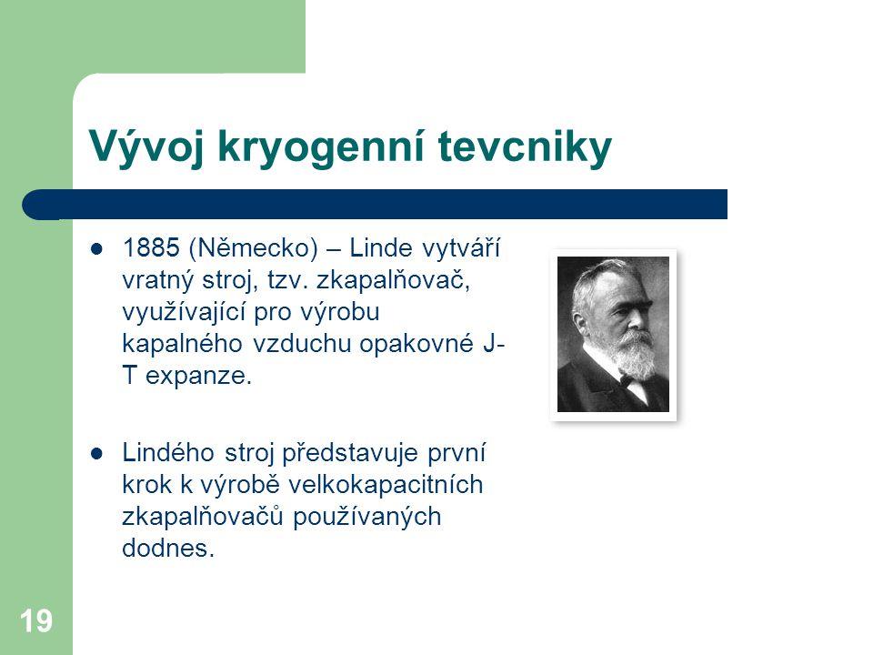 Vývoj kryogenní tevcniky