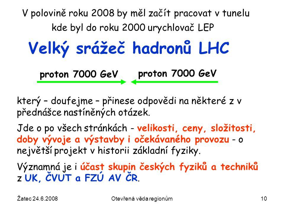 Velký srážeč hadronů LHC