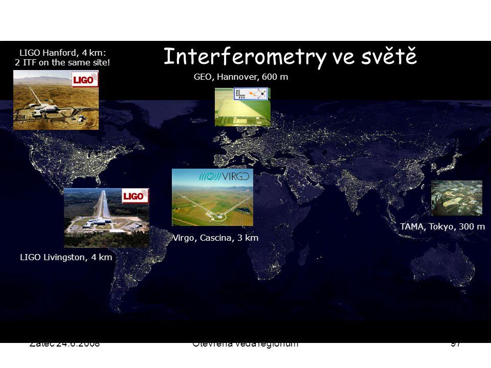 Interferometry ve světě