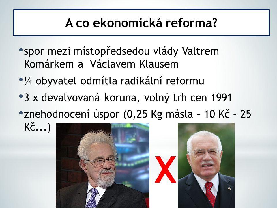 A co ekonomická reforma