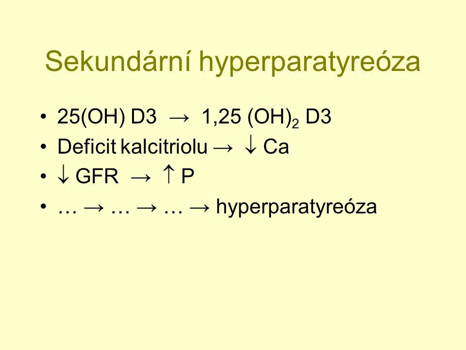Sekundární hyperparatyreóza