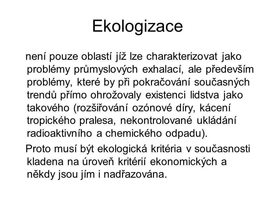 Ekologizace