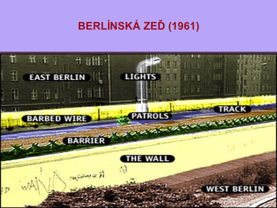 BERLÍNSKÁ ZEĎ (1961)