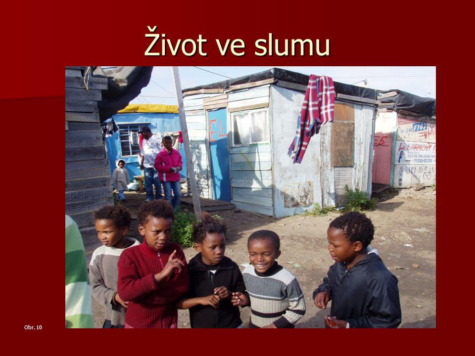 Život ve slumu Obr. 10