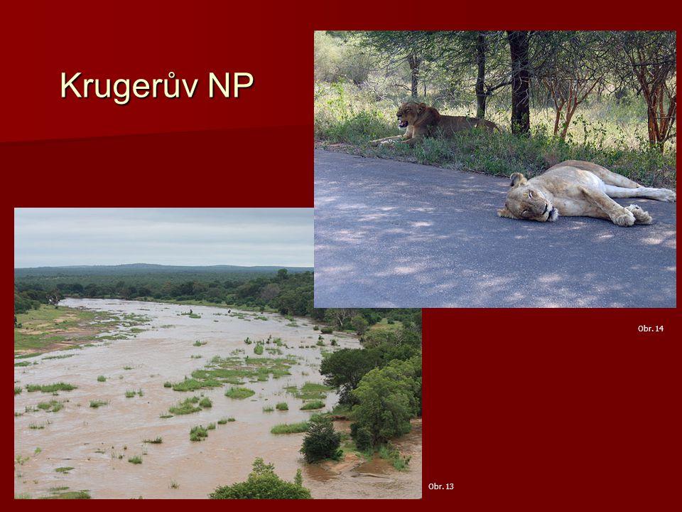 Krugerův NP Obr. 14 Obr. 13