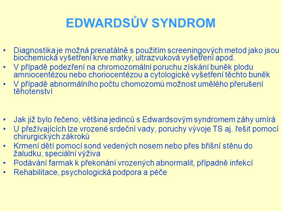 EDWARDSŮV SYNDROM