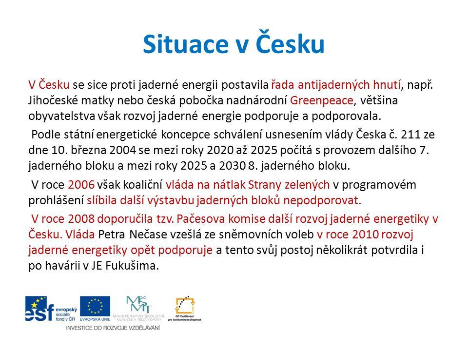 Situace v Česku