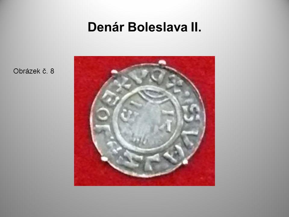 Denár Boleslava II. Obrázek č. 8